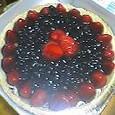 ベリーのケーキ